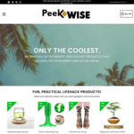 PeekWise 10% off All Products + Free Worldwide Shipping
