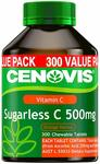 Cenovis Sugarless C 500mg - 300 Tablets $8.40 + Delivery ($0 with Prime) @ Amazon AU