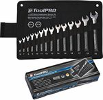 1/2 Price - ToolPRO 14 Piece Spanner Set Combination (Metric or Imperial) $24.98 @ Supercheap Auto