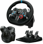 Logitech G29 Driving Force Racing Wheel + Driving Force Shifter for $310.21 Delivered @ The Gamesmen eBay Plus