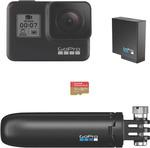 GoPro HERO7 Black + 32GB MicroSD + Mini Tripod + Extra Battery $478 C&C /+ Delivery @ The Good Guys