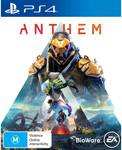 [PS4] Anthem $4 + $3.90* Delivery ($0 C&C) @ BIG W