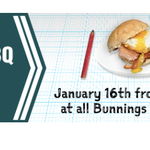 Free Tradie Breakfast January 16th at Bunnings Warehouse 7-9am