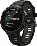 Garmin Forerunner 735XT GPS Multisport Watch Black / Grey $329 (RRP $599) @ Rebel Sport