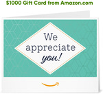 Win a $1000 Amazon Gift Card from PlantSnap