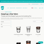 40% off Star Wars Keepcups (from $16.20) + $8 Shipping @ Keepcup.com