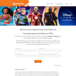 Free Disney+ 14-Day Trial (New Subscribers) @ Woolworths Rewards [Credit Card or PayPal Required]