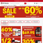 Up to 60% off RRP Storewide: Manuka Health MGO 250+ Manuka Honey 1KG $50 (RRP $154.39), Half Price Fusion Fusion @ Mr Vitamins