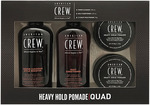 American Crew Heavy Hold Pomade Quad Pack $29.95 + Delivery (Free with $30 Spend) @ Hairhouse Warehouse