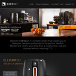 Brewart Beerdroid (Beer Brewing Machine) $639 (U.P. $799) @ Brewart Au