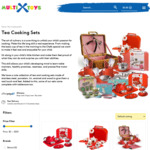 Kid's Play Tea Sets & Cooking Sets - 25% off on Full Range + Shipping @ Multi Toys