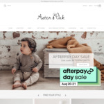 Afterpay Day Sale - Extra 30% off Storewide @ Aster & Oak