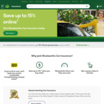 10% off + $100 Gift Card @ Woolworths Car Insurance