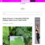 """Win 1 of 10 Martin Summer's """"Connecting with Life: Finding Nature in an Urban World"""" Paperbacks from Eco Warrior Princess"""