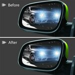 Anti Fog, Rain-Proof Rear View Mirror Protector $6 Delivered (Was $10) @ Real Store