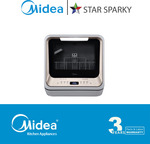 Buy Midea Mini Dishwasher New Version (Now $418, Was $599) GET Water Jug (Worth $49) + Delivery @ Star Sparky Direct