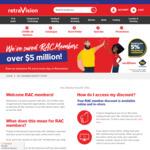 [WA] 5% off @ Retravision for RAC Members
