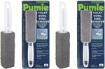 Pumie (Pack of 2) Toilet Bowl Ring Remover TBR-6 $28.76 + Delivery (Free with Prime $49+ Spend) @ Amazon US via AU