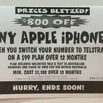 $800 off Any iPhone on $99/Month 150GB Plan (for 12 Months) @ JB Hi-Fi (New Customers)