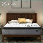 Zinus Pocket Spring Mattress 33cm - Single $179.25, Double $239.25, Queen $249.75, King $303.25 @ Zinus eBay