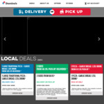 $10 Any Large Pizza + Garlic Bread + 375ml Drink (Pick up before 4pm) @ Domino's (Selected Stores)