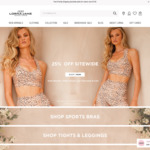 25% off Sitewide & Free Book When You Spend over $30 @ Lorna Jane
