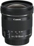 [Backorder] Canon EF-S 10-18mm F/4.5-5.6 IS Stmlens $324.75 + Delivery ($0 with Prime) @ Amazon UK via AU