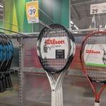 Wilson Federer Pro 105 Adult Tennis Racquet $39 (Clearance) in-Store @ Kmart