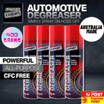 Australia Export Degreaser Spray 4x 400gm $17.95 Delivered @ OZCCTV eBay