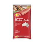 SunRice Australian Medium Grain Rice (Calrose) 5kg $8 (was $16) @ Coles