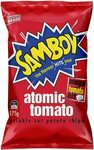 Samboy Samboy Atomic Tomato, 12x 175g $19.80 + Delivery ($0 with Prime/ $39 Spend) @ Amazon AU - in stock - Tomato and Barbeque