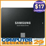 """[eBay Plus] Samsung 2.5"""" 860 EVO SATA 500GB SSD $75.65 Delivered ($58.65 after Cashback) @ Computer Alliance eBay"""