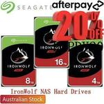 """[Afterpay] Seagate IronWolf 4TB 3.5"""" NAS Hard Drive $116 Delivered @ Shopping Express eBay"""