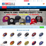 Free Shipping on Official AFL Merchandise @ AFL Footy Shop