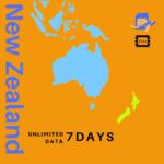40% off New Zealand Travel eSIM / Physical SIM Cards from $15 Delivered @ TravelKon
