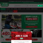 Peter Stevens Motorcycles Accessories Sale: Up to 50% off + Extra 5% off with Coupon (Expired)