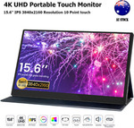 4K Portable Monitor IPS Touch Panel Resolution 3840x2160 $426.55 Delivered @ Rob-3714 eBay