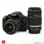 Canon EOS 550D/ Kiss X4 Twin IS Lens Kit [18-55mm + 55-250mm] $648.95 Delivered @ ShoppingSquare
