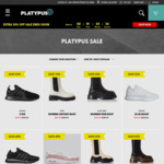 Extra 30% off Sale Items: Vans, Nike, Converse, New Balance, Saucony, adidas & More + $10 Post ($0 C&C/ $130 Order) @ Platypus
