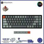[eBay Plus] Keychron Wireless Keyboard Gateron Switch K6 $89.10 K4 $107.1 Free Delivery @ EZPC Technology eBay