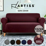 Artiss Sofa Covers: 1 Seater $4.95, 2 Seat $6.95, 3 Seat $7.95, 4 Seat $9.95 Delivered @ OzPlaza Living eBay / Catch / Kogan