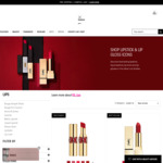 Buy 1 Get 1 Free Lipstick From $59 for 2 + Free Shipping @ YSL Beauty Online