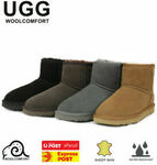 UGG Classic Mini Boots $38.40, BYD Level 3 Surgical Mask 100 Pcs $22.40 ($37.44, $21.84 eBay Plus) Delivered @ Linen Dream eBay