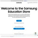 Samsung 8kg Heat Pump Smart Dryer and 8.5kg Front Load Smart Washer $1577.96 Delivered @ Samsung Education Store (Members Only)