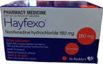 70x Telfast Generic, 70x Zyrtec Generic, 50x Claratyne Generic, Nasonex Generic + More $49.99 Delivered @ PharmacySavings