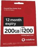 Vodafone $250 Pre-Paid Starter Pack for $150 + Delivery ($0 in-Store/ C&C/ Metro Areas) @ Officeworks