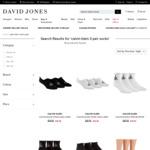 Calvin Klein 3 Pair Socks (4 Choices) $10 ($0 C&C Only) @ David Jones