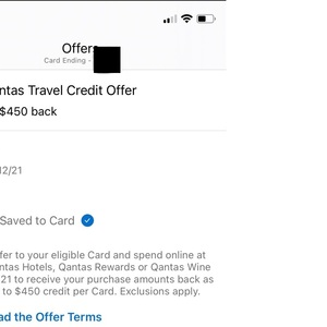 AmEx Statement Credits: Spend $450 Get $450 Back @ The Qantas American Express Ultimate Card