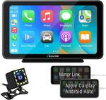 """Carpuride Portable Apple CarPlay/Android Auto - 7"""" Touch Screen US$229.90 (~A$313) Delivered @ Carpuride"""