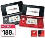 Nintendo 3DS $188 @ BigW from June 28, 2012